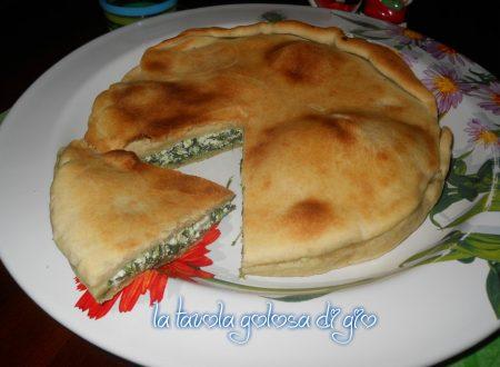 Focaccia spinaci e ricotta ricca di gusto