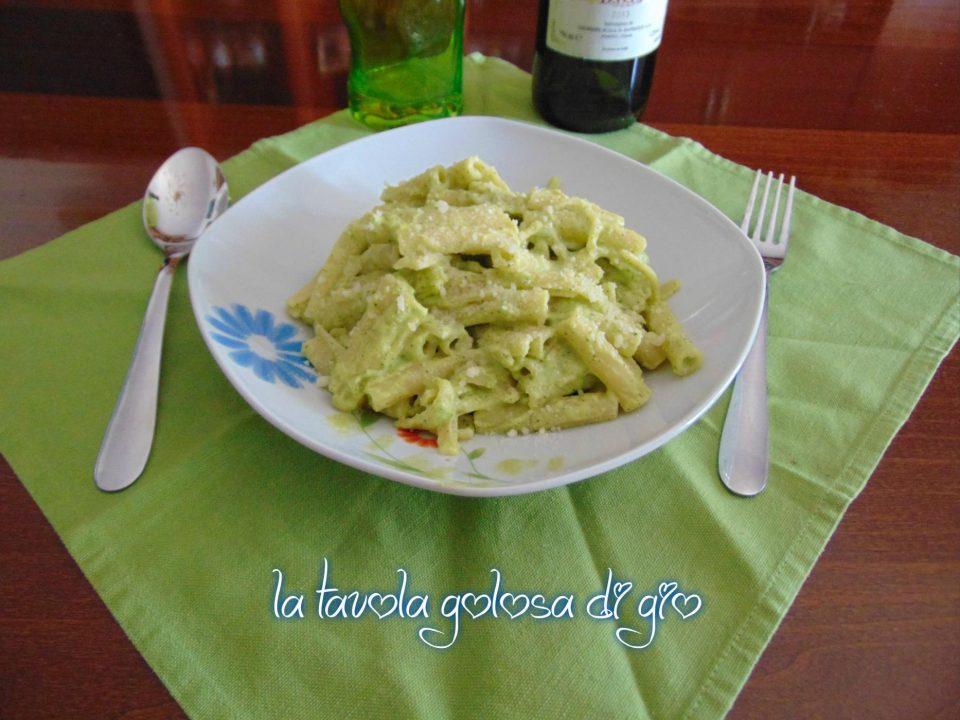 Pasta con Crema di Zucchine e Panna