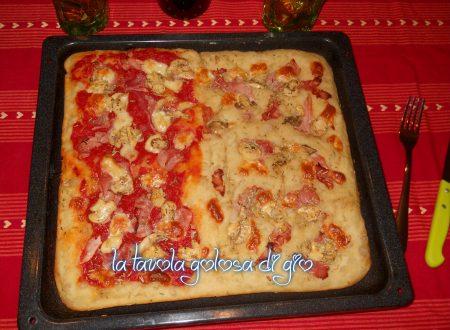 Pizza a lunga lievitazione in frigo