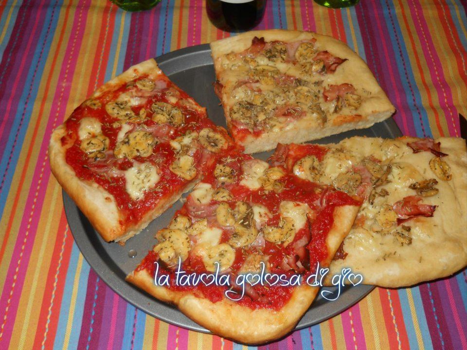Pizza al Taglio con Impasto allo Yogurt