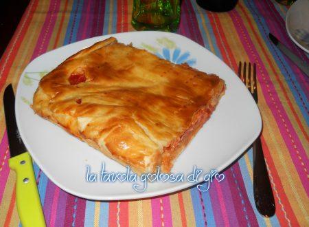 Pizza parigina napoletana rustica
