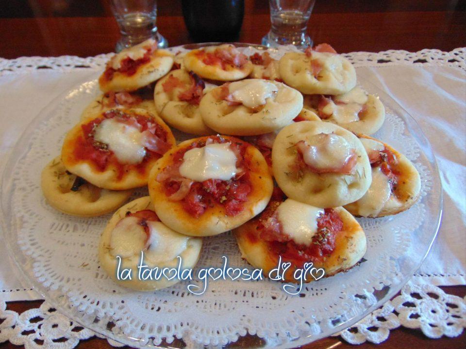 Pizzette da buffet deliziose