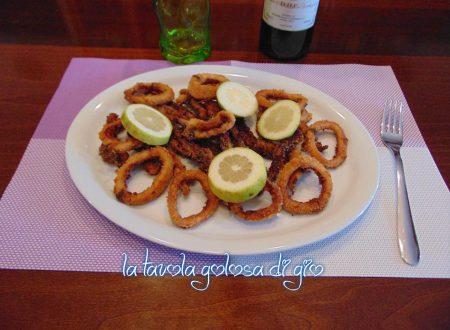 Calamari cotti al forno più leggeri
