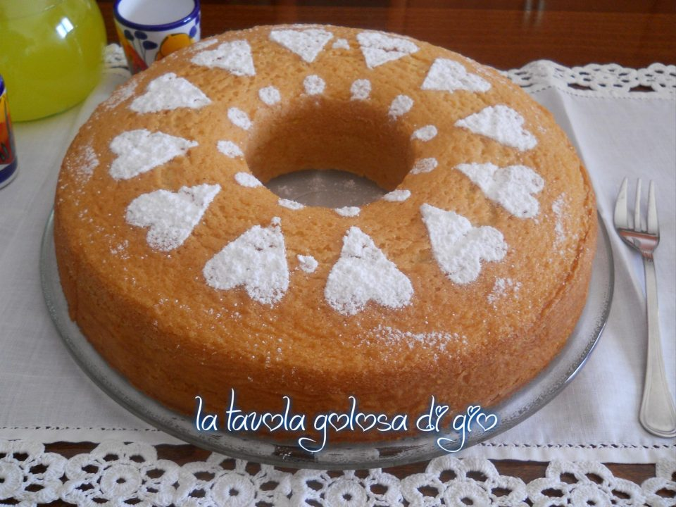 Ciambella Della Nonna Senza Latte e Burro