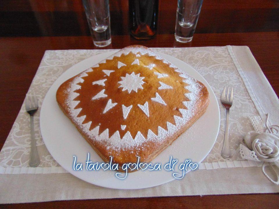 Torta allo Zafferano con Yogurt e Arancia