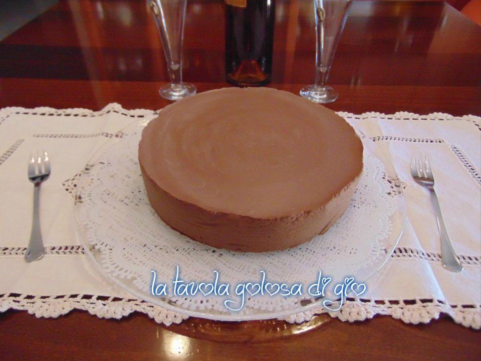 Torta Budino Deliziosa al Cioccolato