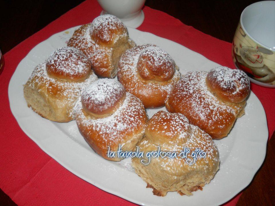 Brioche siciliane al caffè deliziose