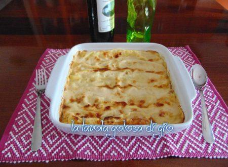 Cannelloni con crema di ricotta e mortadella