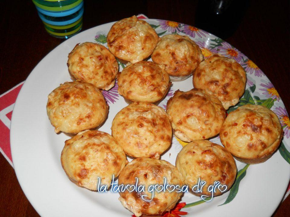 Muffin di Patate con Speck