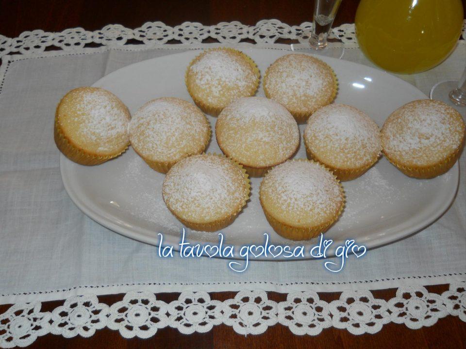 Muffins Soffici al Limoncello Tanto Profumati