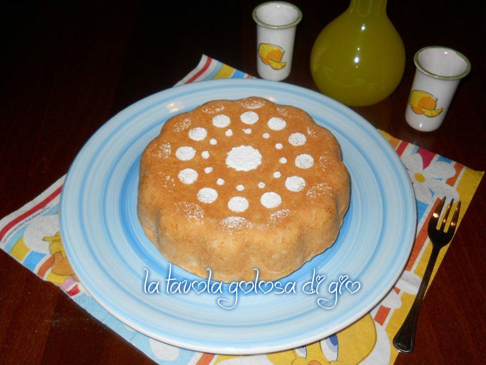 Torta con frolla di ricotta con crema pasticcera