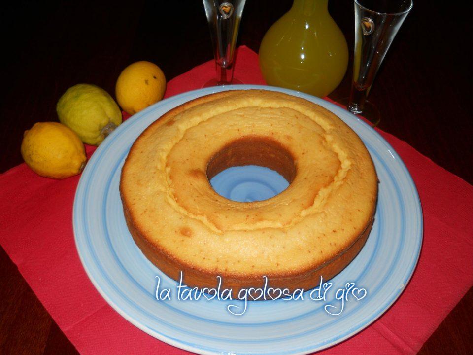 Torta Sofficissima al Limone Senza Burro