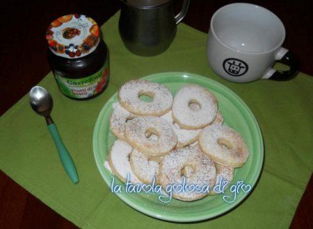 Biscotti allo yogurt con poche calorie