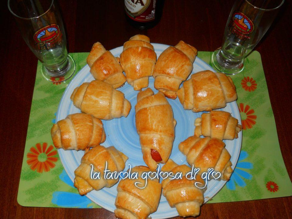 Cornetti Salati al Mascarpone e Yogurt