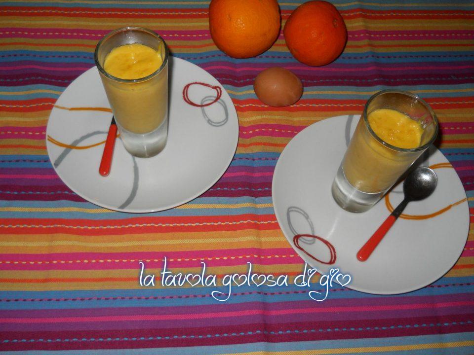 Crema di Arancia e Cioccolato Bianco