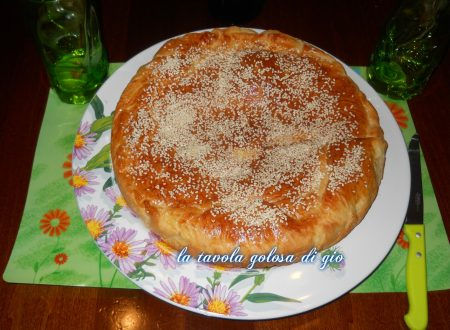 Pan brioche siciliano con mozzarella