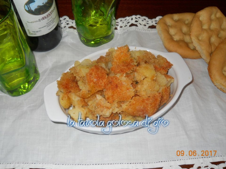 Patate Sbriciolate al Parmigiano