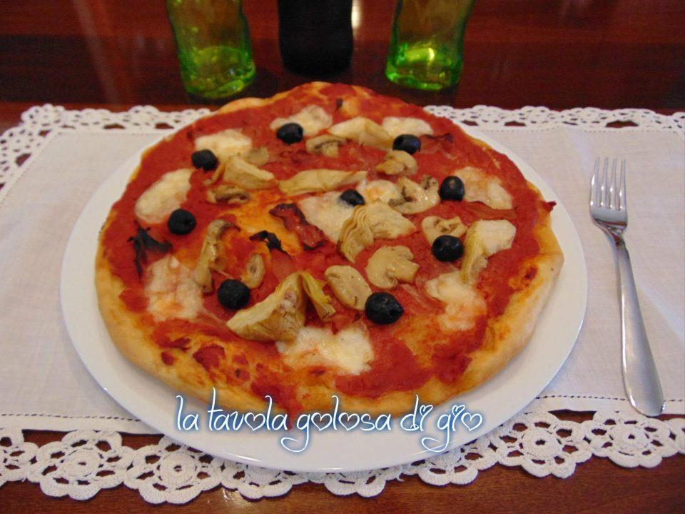 Pizza al Taglio Capricciosa