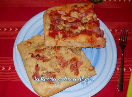 Pizza morbida a lunga lievitazione