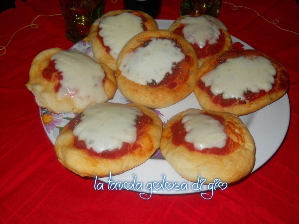 Pizzette Morbide Siciliane al Forno