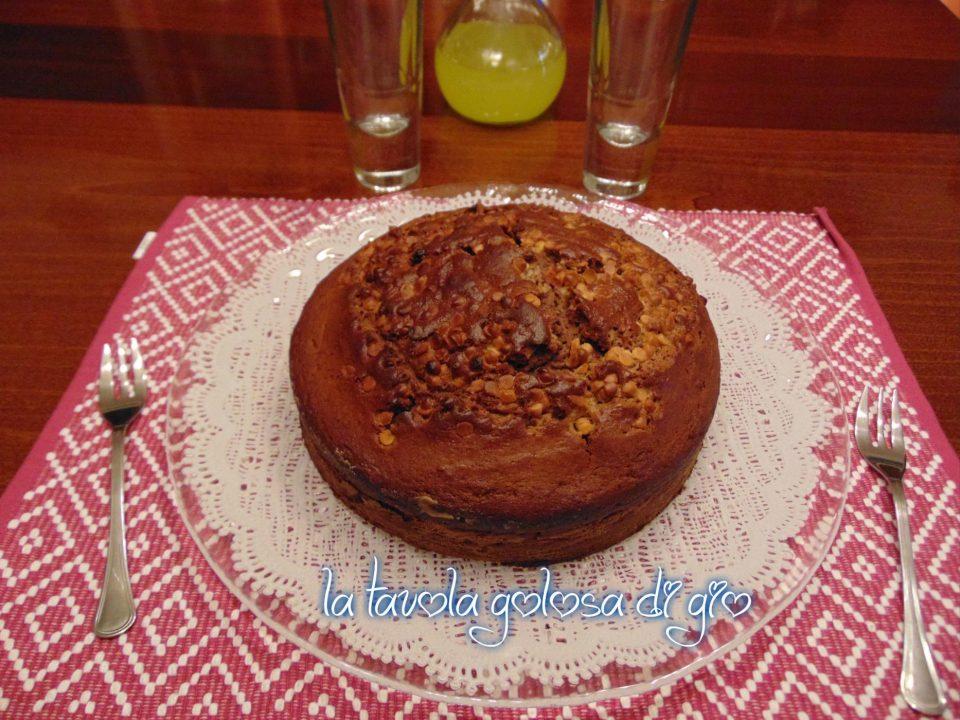 Torta Golosa con Ricotta e Cannella