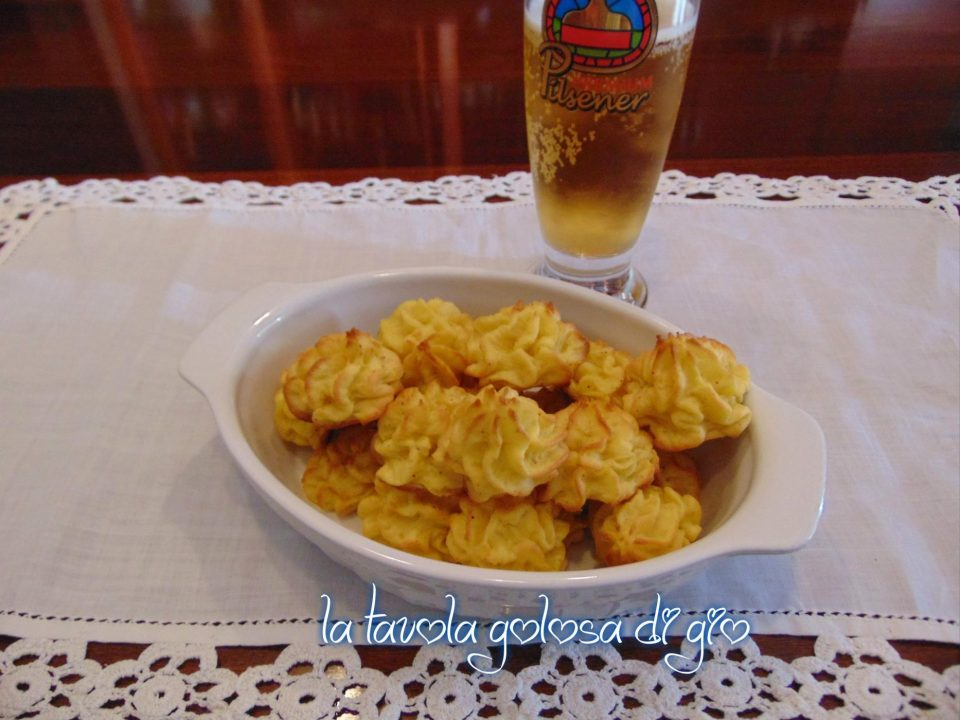 Bocconcini di patate senza lievitazione