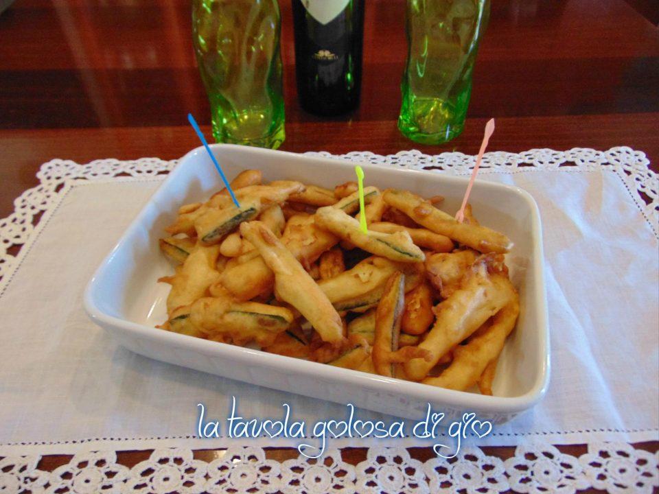 Frittelle sfiziose di zucchine