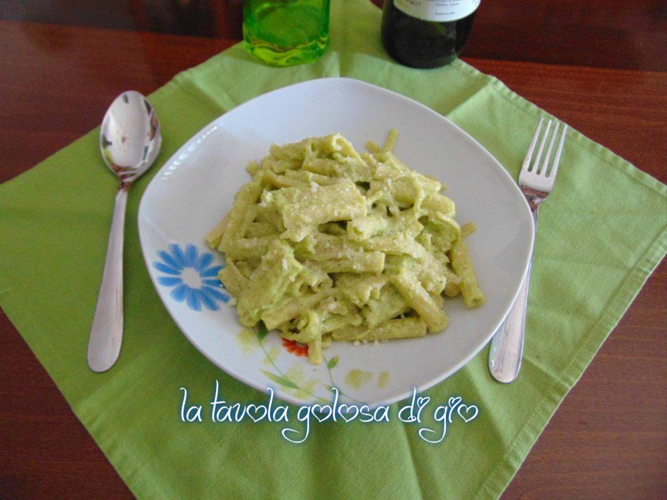 Pasta con Panna e Crema di Zucchine