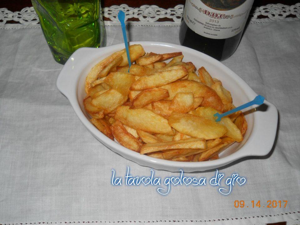 Patatine fritte perfette in padella