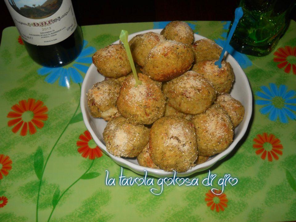 Polpette al forno di patate e zucchine