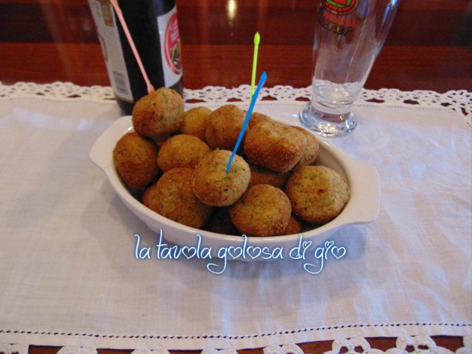 Polpettine al Forno con Zucchine