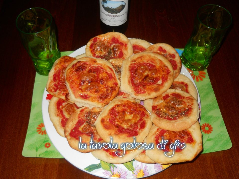 Schiacciatine di Patate con Pomodoro