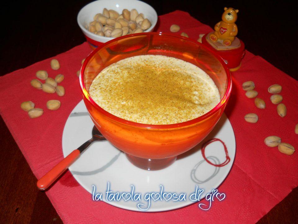 Tiramisù mascarpone e pistacchio