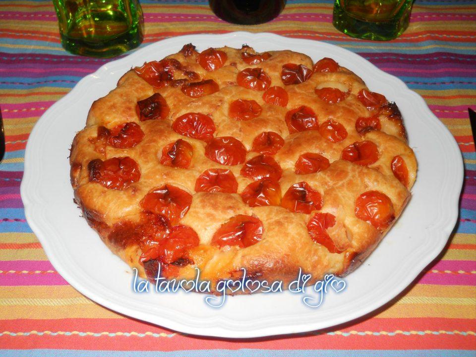 Torta di Pomodorini allo Yogurt