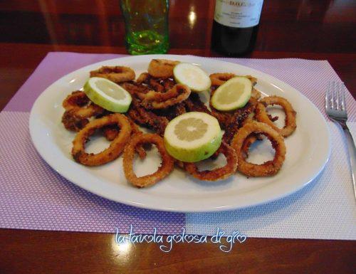 Calamari al forno veloci e leggeri