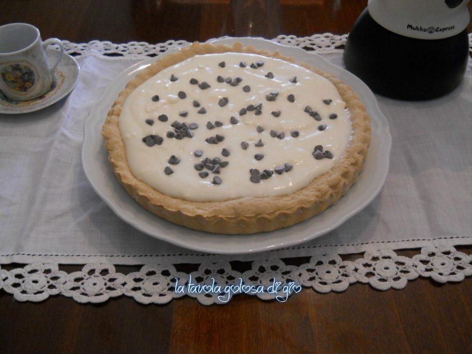 Crostata con Crema di Latte e Mascarpone