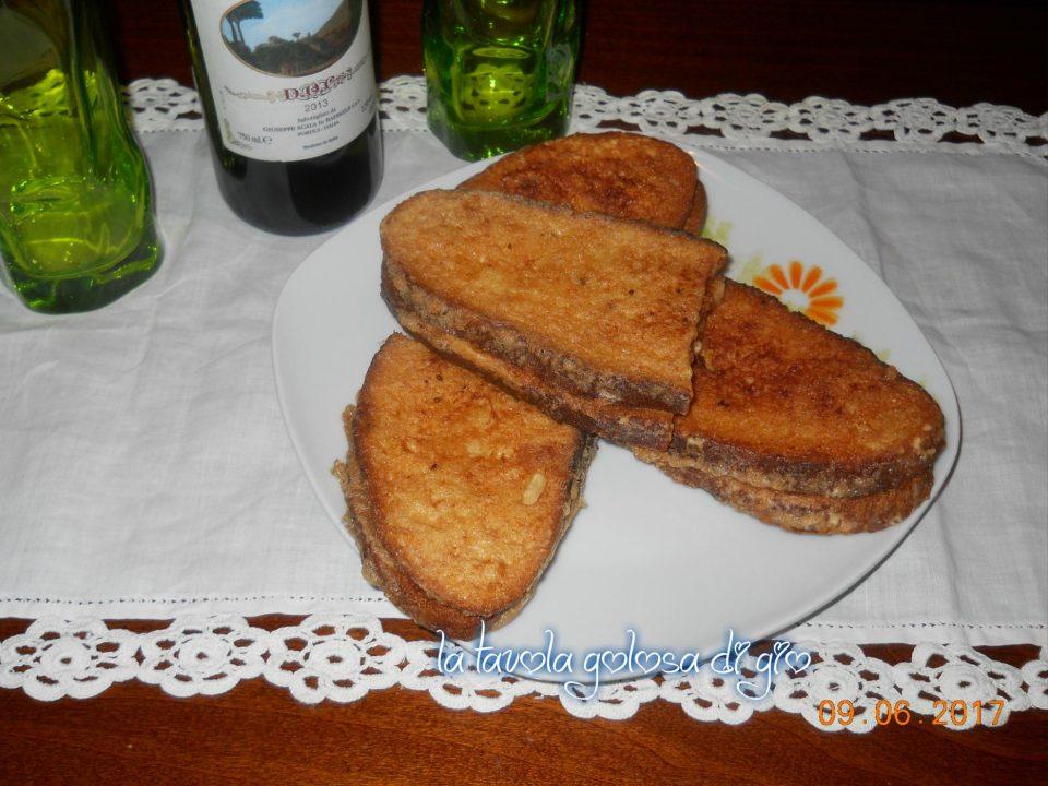 Mozzarella in Carrozza alla Napoletana