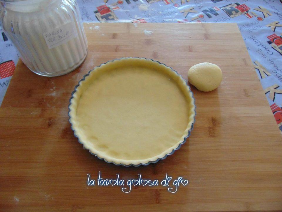 Pasta frolla di ricotta senza uova