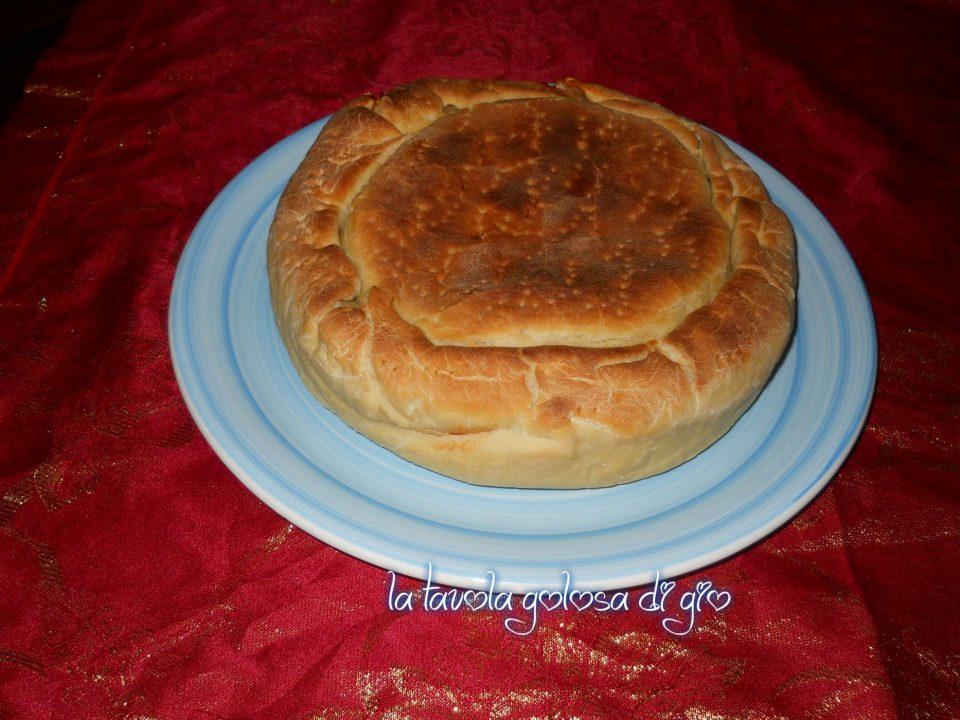 Scacciata siciliana con patate