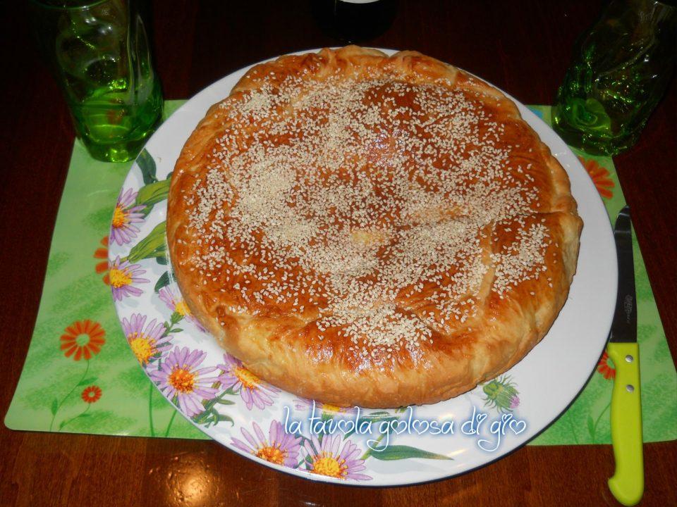 Torta Pan Brioche Siciliano Soffice