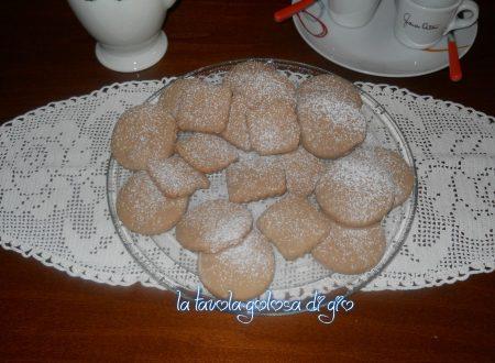 Biscotti della nonna al cioccolato