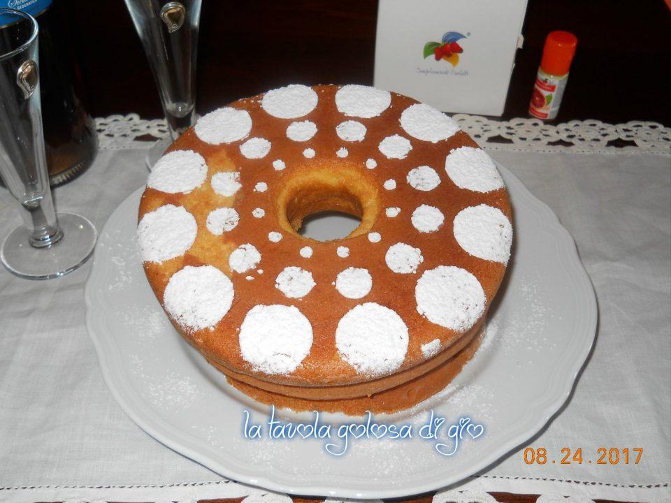 Chiffon Cake Alta allo Yogurt