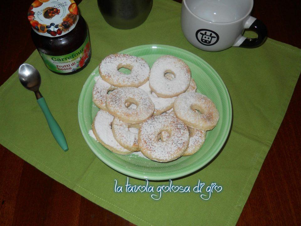 Ciambelle Morbide Senza Uova allo Yogurt