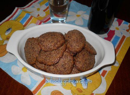 Cookies golosi al cioccolato e zenzero