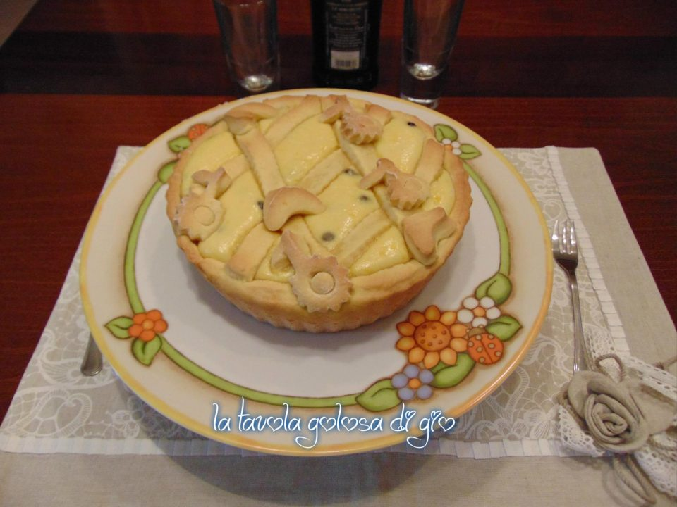 Crostata Golosa con Ricotta e Cannella