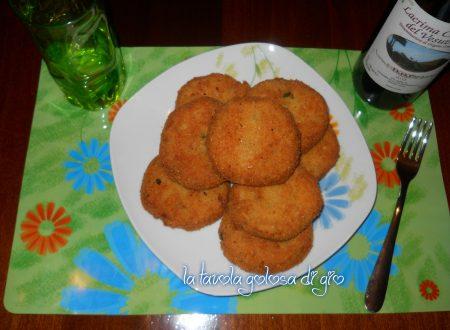 Hamburger di patate con provola e zucchine