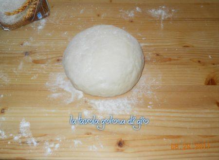 Impasto pasta brioche allo yogurt