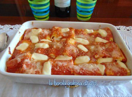 Paccheri al forno napoletani con ricotta