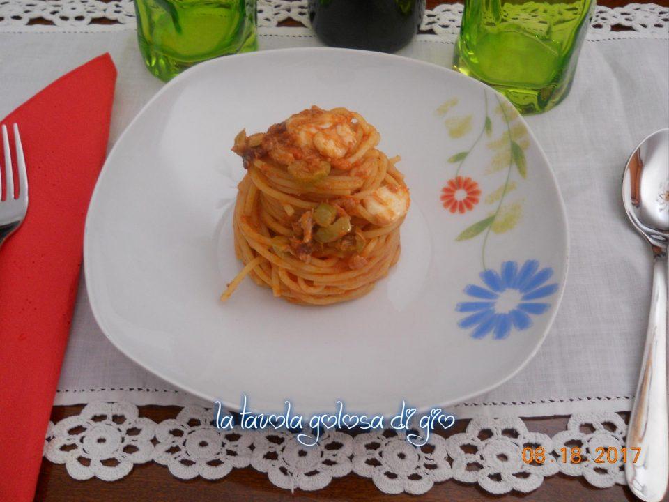 Pasta alla Caprese con Tonno e Olive