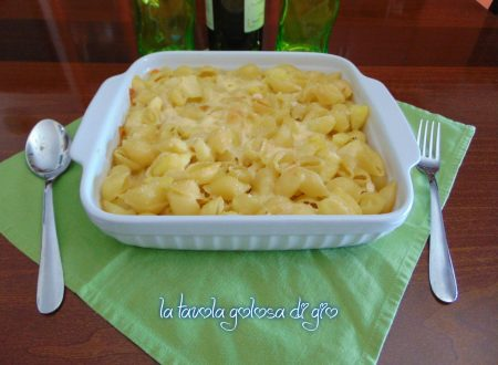Pasta con le patate napoletana al forno